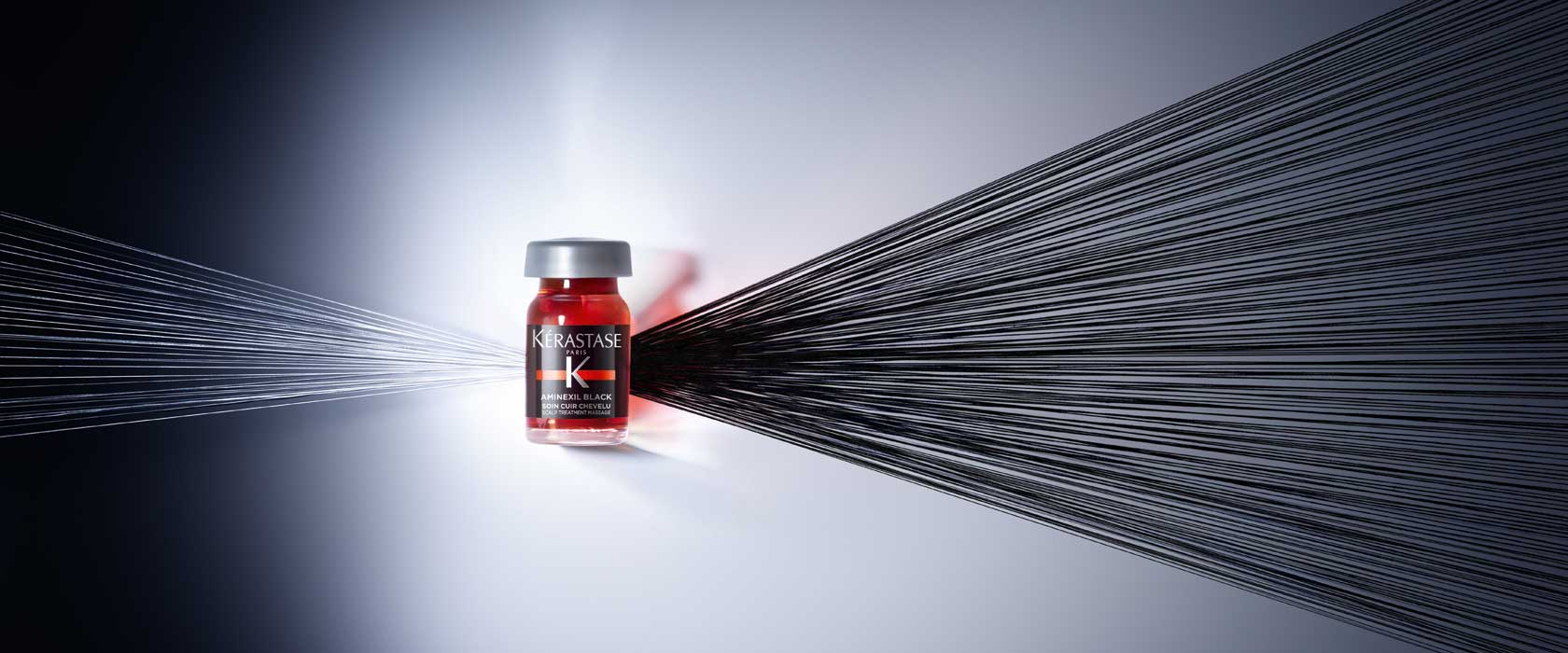 Combate la caída de tu cabello con Aminexil de Kerastase