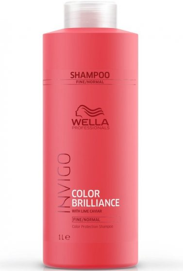 CHAMPÚ WELLA BRILLANCE CABELLOS COLOREADOS 1000ml