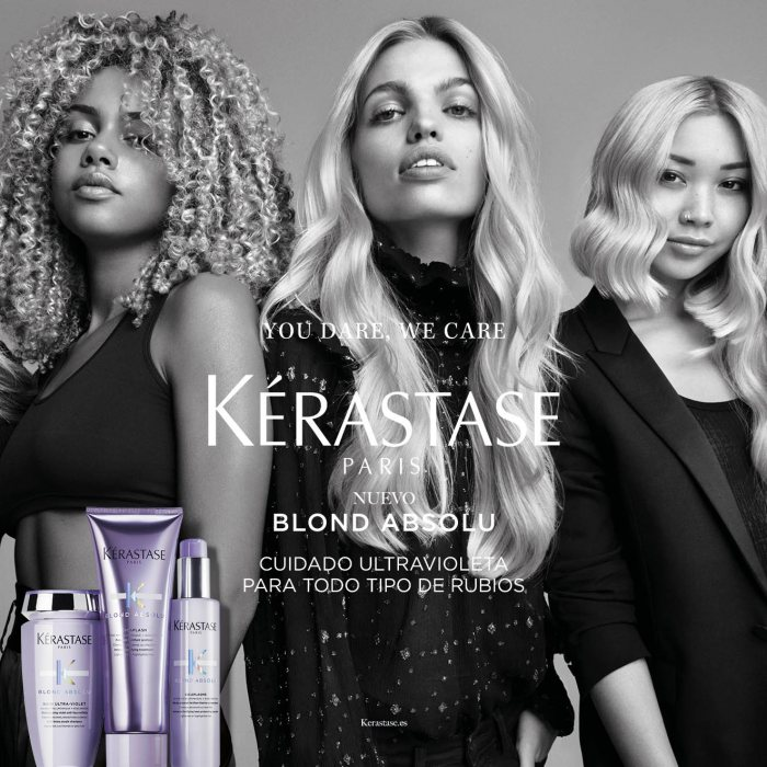 Rubios más luminosos con Blond Absolu de Kerastase