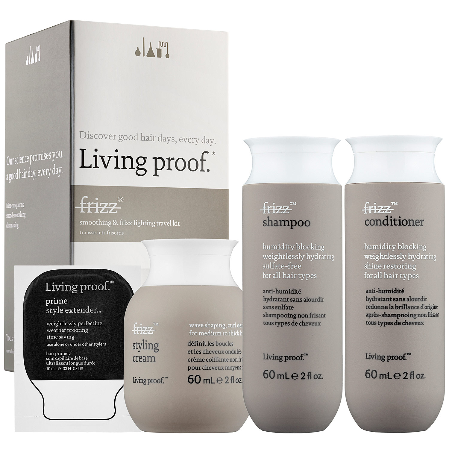 LIVING PROOF FRIZZ KIT VIAJE